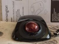 Kensington Orbit Wireless Trackball - used only once