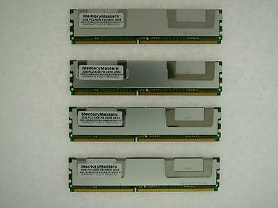 8GB (4x 2GB) RAM PC2-5300F FB-DIMM for Apple Mac Pro 2006 1,1 2007 2,1 Memory