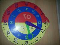 EARLY LEARNING TIME TEACHING clock
