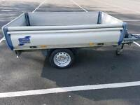 Ifor williams braked euro trailer