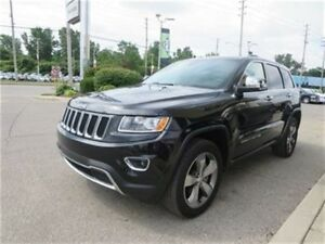 2016 Jeep Grand Cherokee Limited - 4x4  Leather  Sunroof  GPS  S