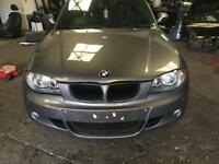 2009 - 2011 BMW 1 SERIES LCI M SPORT FRONT END E81/E87 COMPLETE IN GREY