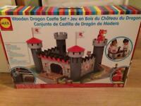 BNIB Allex wooden castle
