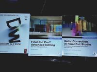 Final Cut Studio & Dreamweaver Classroom in a Book by Adobe and Michael Wohl Apple FCP7, Color