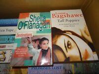 2 x PAPERBACK BOOKS - SHEILA O´FLANAGAN DESTINATIONS & LOUISE BAGSHAWE TALL POPPIES