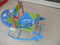 Rainforest infant to toddlers rocker