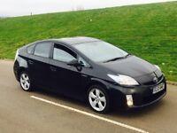 2010 Toyota Prius 1.8 VVT-i Hybrid T4 CVT 5dr black***VERY HIGH MILES**FULL T...