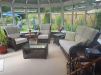 Modern conservatory suite