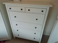 IKEA white HEMNES chest of drawers, CAN DELIVER
