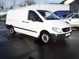 **CROSSGAR COMMERCIALS** MERCEDES VITO 109 cdi LWB 1/06/2010 77727 MILES JUST SERVICED AND CHECKED