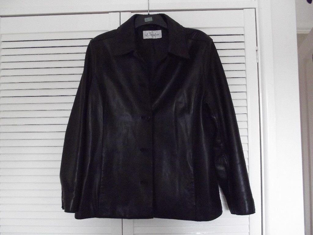Leather jacket size 18 -  J Taylor Ladies Leather Jacket Size 18