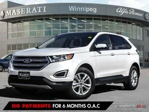 2017 Ford Edge SEL: ACCIDENT FREE, PRAIRIE VEHICLE, LOW MILEAGE