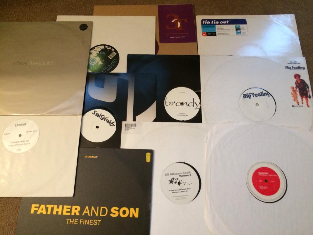 20 House vinyl/records