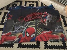 Single Spider-Man duvet cover and oillowcase