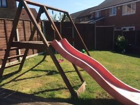 FREE Swing and Slide climbing frame
