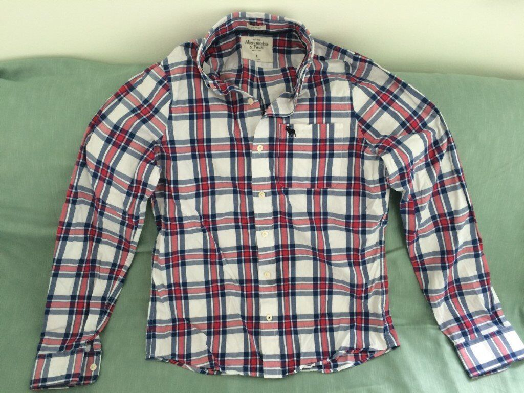 3beef35242 Abercrombie   Fitch men s white