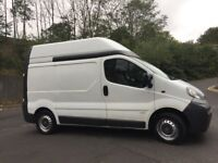 Vauxhall Vivaro 1.9 dti high roof swb van only 105k miles good runner