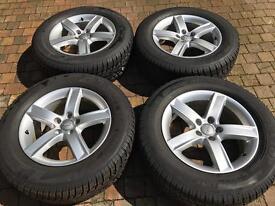 Audi Alloys plus Winter Tyres