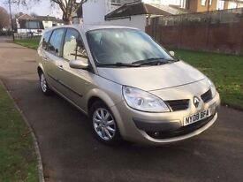 Renault Grand Scenic 1.6 VVT Dynamique 5dr, p/x welcome, 6 MONTHS FREE WARRANTY