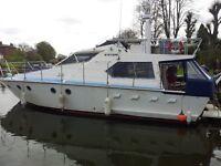 motor boat 43 ft, Mystere 43 , Cardiff