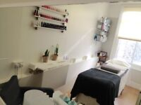 Beauty Therapy Room to Rent in London Muswell Hill N10 For Beauty Therapists