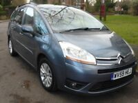 Citreon C4 Grand Picasso VTR 1.6 HD Automatic, 2009, 7 Seater. 2 Owner, Service History
