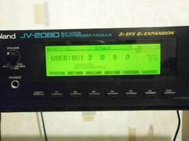 Sound module Roland JV-2080