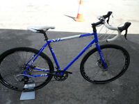 Reynolds 631 Steel Raleigh Maverick Elite All Round Bike Brand New Disc Brakes