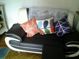2seater and 3 seater sofas