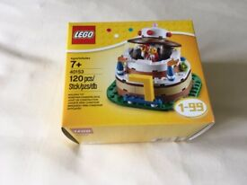 LEGO 40153 Birthday Table Decoration Set (New)