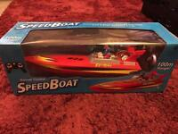 Remote controlled speed boat rc boat