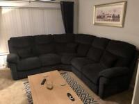 La-Z-Boy (Lazyboy) Tamla Static fabric 2 corner sofa