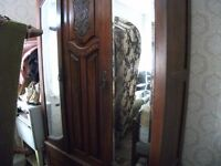 LOVELY ANTIQUE DOUBLE WARDROBE