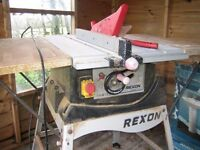 REXON TABLE SAW, USED MODEL BT2504AE