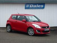 Suzuki Swift 1.2 SZ3 Petrol 3Dr Hatchback (bright red) 2015
