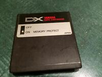 YAMAHA DX 7 DATA RAM Cartridge for DX7 , DX-5, TX , RX 11, etc