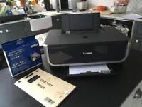 Canon IP4300 inkjet printer with new ink and spares