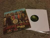 First pressing Beatles LPs - genuine