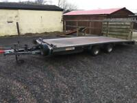2015 Brian James car transport recovery trailer
