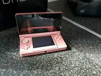 Nintendo 3ds console and games