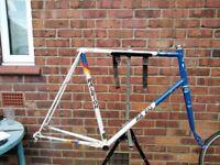 raleigh corsa reynolds 501 road bike frame