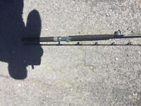 Sea fishing 2 piece boat 6ft rod