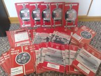 Liverpool FC official programmes 1970-1975 Anfield Review Bundle OFFERS