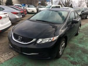 2014 Honda Civic Sedan LX,AUTO,PW,PL