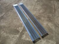PAIR OF NEW LOADING RAMPS ( Quad, Ride on Lawnmower, Trailer, Van)