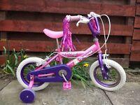 Girls BIKE / bicycle - pink purple