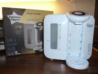 TOMMEE TIPPEE PERFECT PREP MACHINE - WHITE BOXED IN ORIGINAL PACKAGING WITH INSTRUCTIONS - EXCELLENT