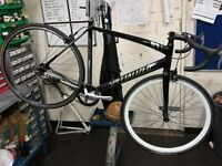 Specialized langster single speed/fixie/track bike many upgrades