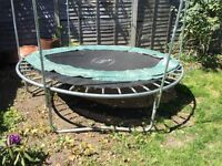 8ft Plum Trampoline Bed