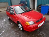 Suzuki Swift, Cheap Insurance, Long MOT, New exhaust, 2 New tyres, Just serviced, great first car